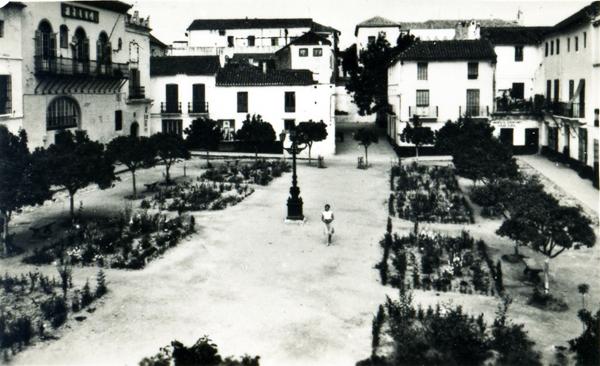 Plaza de los Naranjos 1960